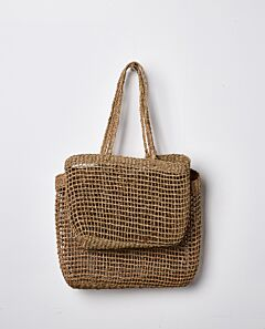 Lally woven tote