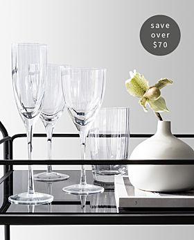 Elison 16-piece glassware bundle