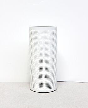Dianna porcelain pillar table lamp - pin