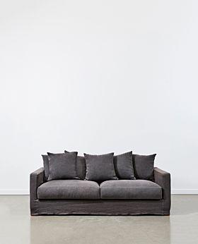 Amalfi 2.5 seater sofa - iron