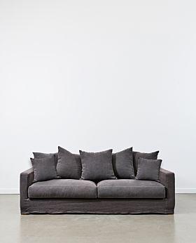 Amalfi 3 seater sofa - iron