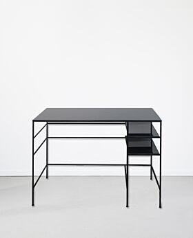Notre Monde desk - charcoal