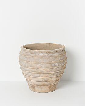 Alba terracotta pot