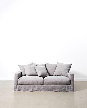 Amalfi 2.5 seater sofa - elephant