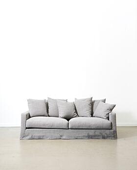 Amalfi 3 seater sofa - elephant