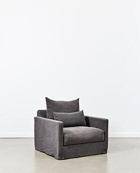 Amalfi armchair - iron