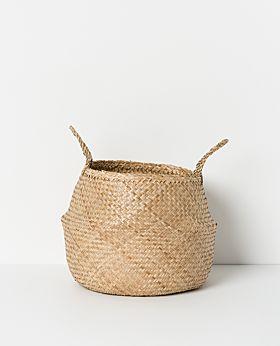 Amara seagrass basket natural - large