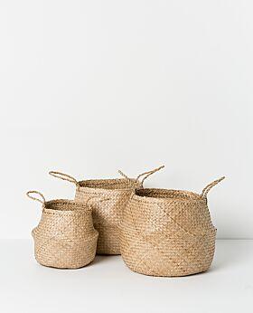 Amara seagrass basket natural