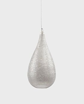 Arabesque teardrop pendant light