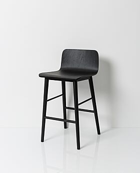 Archer bar stool - black