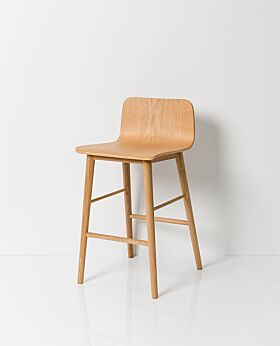 Archer bar stool - natural oak