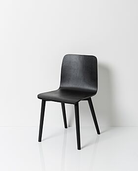 Archer dining chair - black