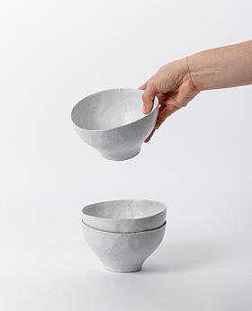 Arlo bowl set of 2 - white