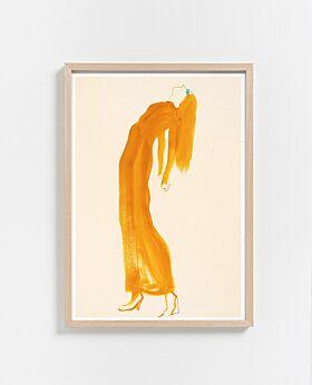Paper Collective The Saffron Dress Print