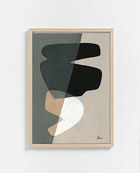 Paper Collective Composition 02 Print