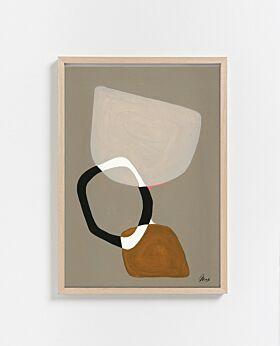 Paper Collective Composition 03 Print