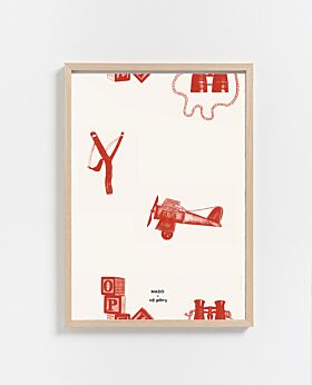 Paper Collective Playtime print