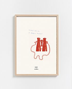 Paper Collective Magic Place print