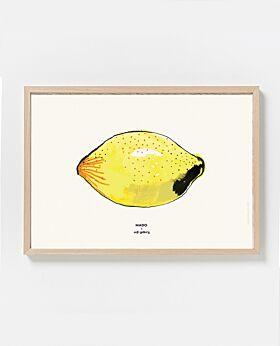 Paper Collective Lemon print