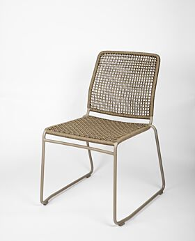 Bari dining chair - taupe
