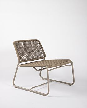 Bari occasional chair - taupe