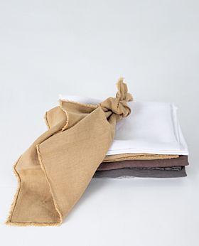 Bay linen napkin - turmeric