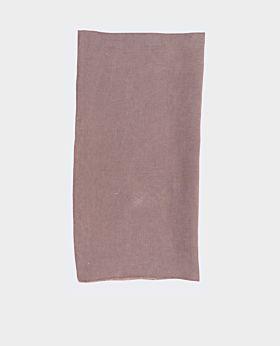 Bay linen napkin - aubergine