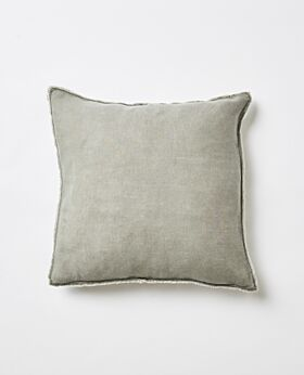 Bay scatter cushion - olive