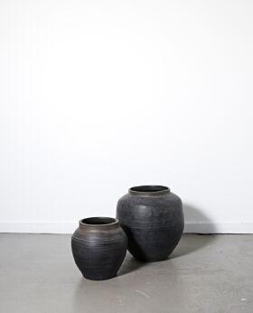 Camden urn - black