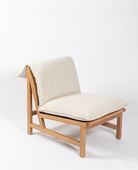 Cantaloupe occasional chair - oat