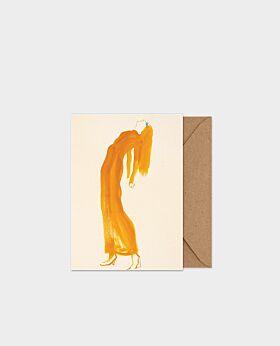 Paper Collective The Saffron Dress - A5 card
