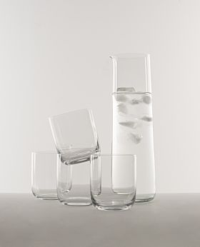 Celine glass carafe