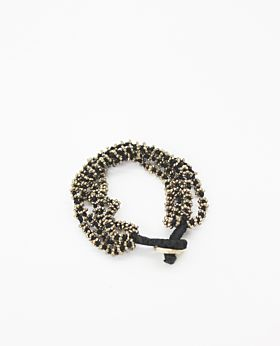 Chantal bracelet - gold & black