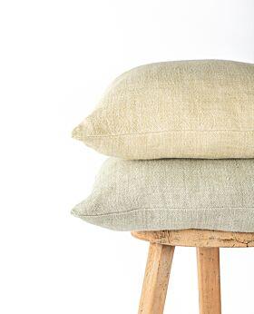 Christophe linen cushion - butter