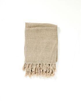 Christophe linen blanket - natural