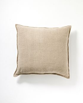 Christophe linen cushion - natural
