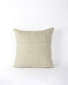 Christophe linen cushion - sage