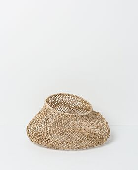Cicely woven basket - wide