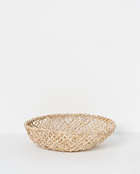 Cicely woven tray - large