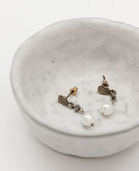 Cosette earrings - pearl drop
