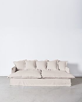 Dawson 3 seater sofa - wheat