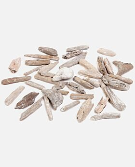 Driftwood decorative mix pieces - 1kg bag