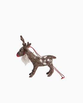 Enchanting standing Rudolph
