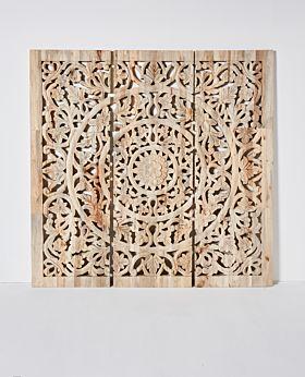 Etienne carved panel - large - 3 panels