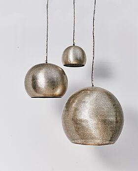 Ezana metal pendant - silver