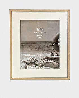 Finn wide photo frame- white