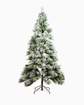 Fir snow christmas tree