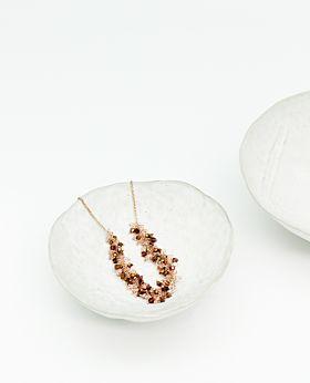 Fleur necklace - pink