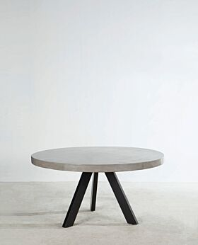 Folio round dining table