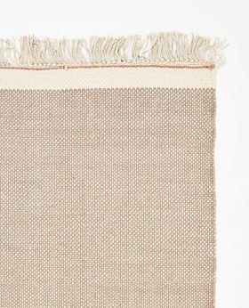 Pastello handwoven wool rug - mushroom